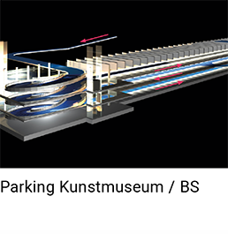 Parking Kunstmuseum Basel
