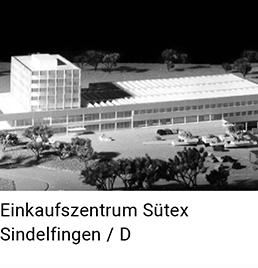 Einkaufszentrum Sütex