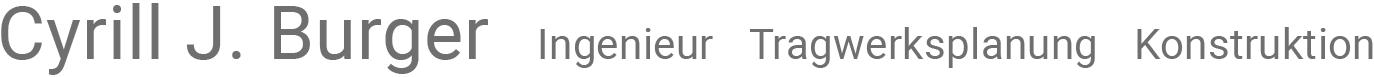 Logo: Cyrill J. Burger, Zurück zur Startseite.